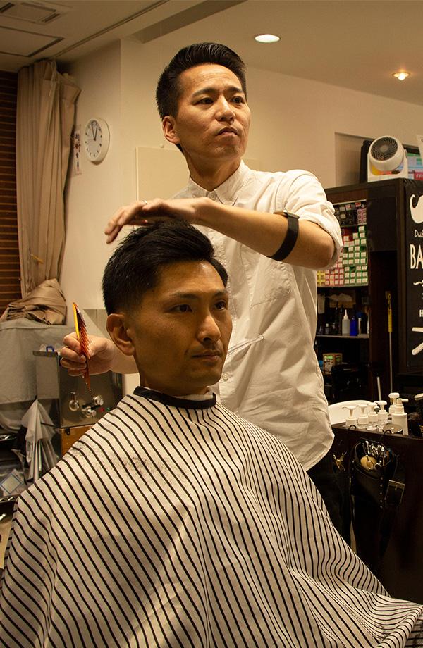 当店の特徴 業界歴20年超の理容師による「その人らしさ」を考え抜いたスタイリング