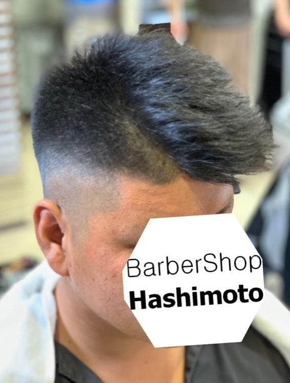 震災刈り、セットしにくい直毛をセットしなくてもいい直毛にしたメンズヘア