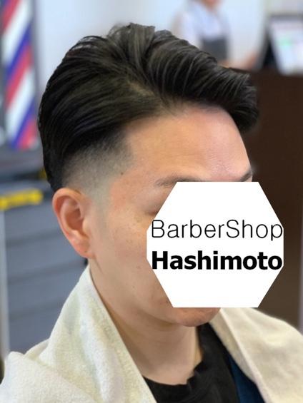 上品な雰囲気を作り出すためのスキンフェード を含んだメンズヘア