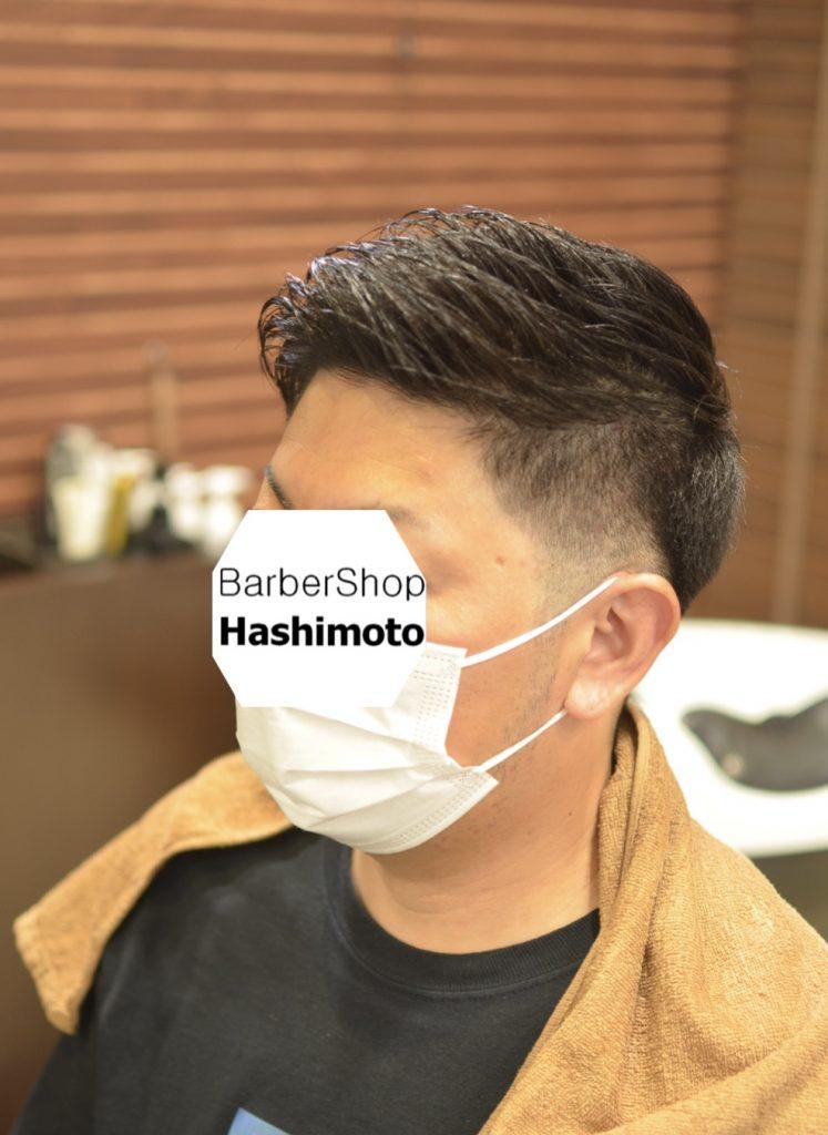 必要なところだけをしっかり刈り上げる40代男性ショートヘア